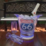 Balde gelo ROUTE 66 c/ LED