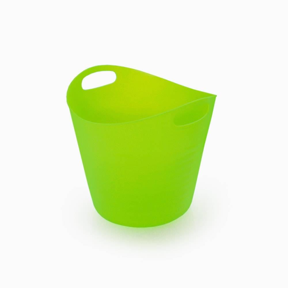 Balde Multiuso Verde - Lyor Design - 20x18,5 cm