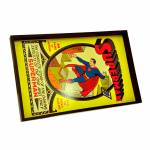 Bandeja DC Comics Superman Colorido em Madeira - Urban - 45x29 cm