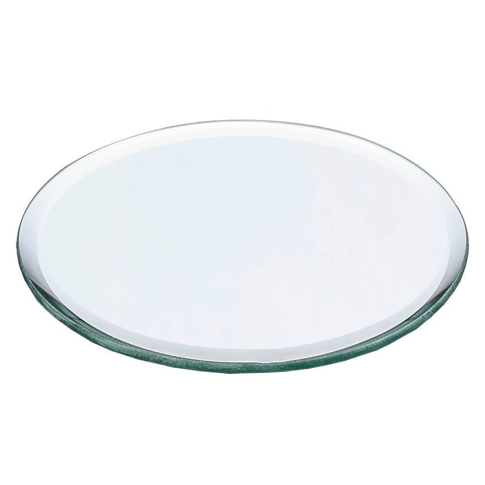 Bandeja Espelhada Pequena para Banheiro em Vidro - Prestige - 15x1 cm