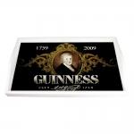 Bandeja Guinness Preta Média em MDF - 38x24 cm