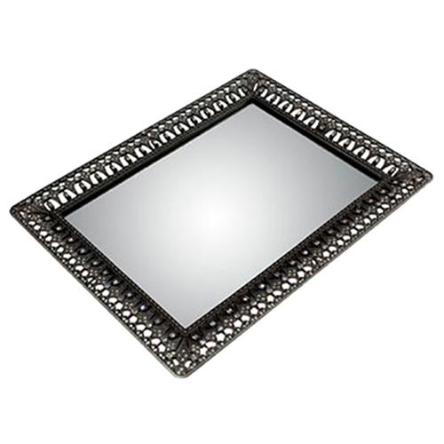 Bandeja Majestic II em Metal - 30x23 cm