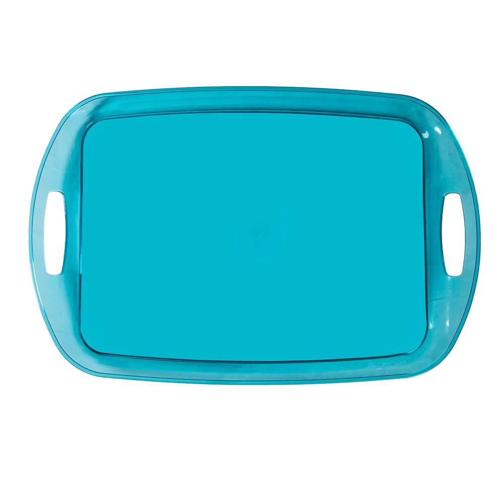 Bandeja Rainbow Azul Clara - Urban - 48x32 cm