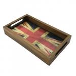 Bandeja retangular bandeira Inglaterra