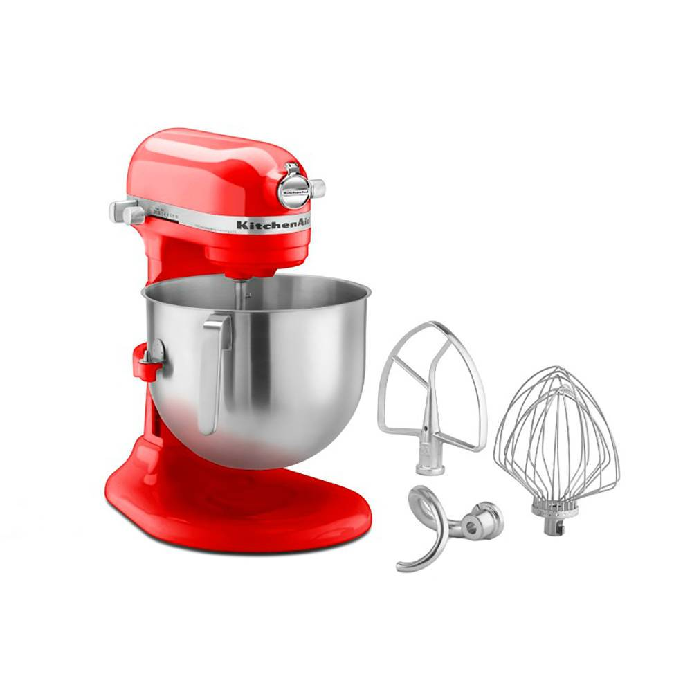 Batedeira Stand Mixer KitchenAid 6,9 Litros Empire Red - 220 V - KEC50AV - 41,9x37,1 cm