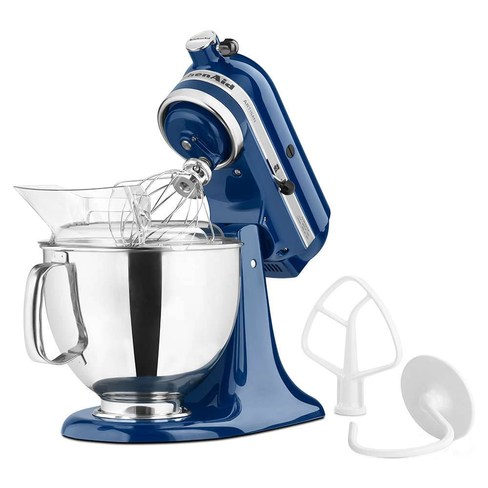 Batedeira Stand Mixer KitchenAid Artisan Blue Willow - KEA33CZ - 127 V - 35,8x35,3 cm