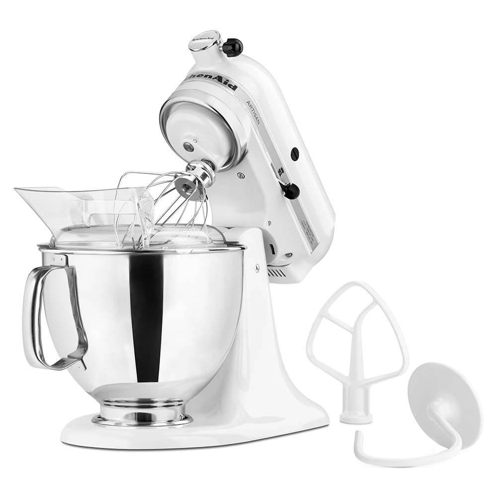 Batedeira Stand Mixer KitchenAid Artisan White - KEA33CB - 127 V - 35,8x35,3 cm