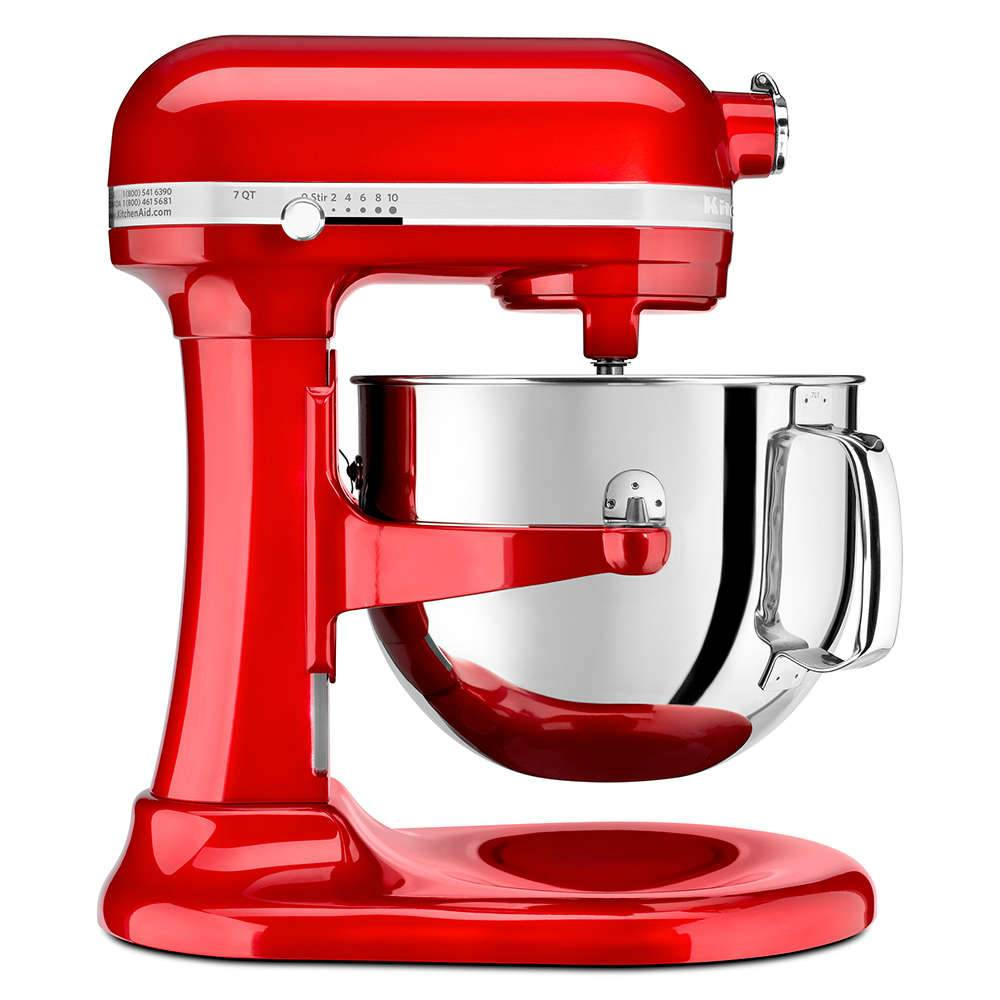 Batedeira Stand Mixer KitchenAid ProLine 6.9L Candy Apple - 127 V - 41,9x33,8 cm