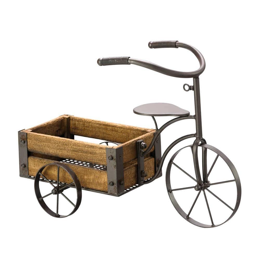 Bicicleta Decorativa para Jardim - Lyor Classic - 52x25 cm