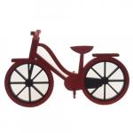 Bicicleta MDF vermelha