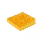 Bloco de Anotações Lego Amarelo Quadrado - 8x8 cm