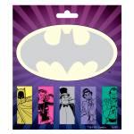 Bloco de Notas Adesivo DC Comics Batman Personagens - Urban - 16,5x14,5 cm