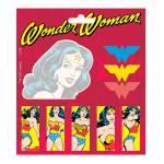 Bloco de Notas Adesivo DC Comics Mulher Maravilha Colorido - Urban - 12x10 cm