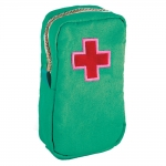 Necessaire Primeiros Socorros - Carpe Diem - Verde em Lona