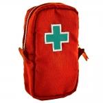 Necessaire Primeiros Socorros Carpe Diem - Vermelha em Lona