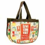 Bolsa Super Bag Quinhentos em Nylon Resinado - 45x33 cm