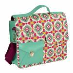 Bolsa Work Bag Frida - Carpe Diem - Verde em Couro Sintético
