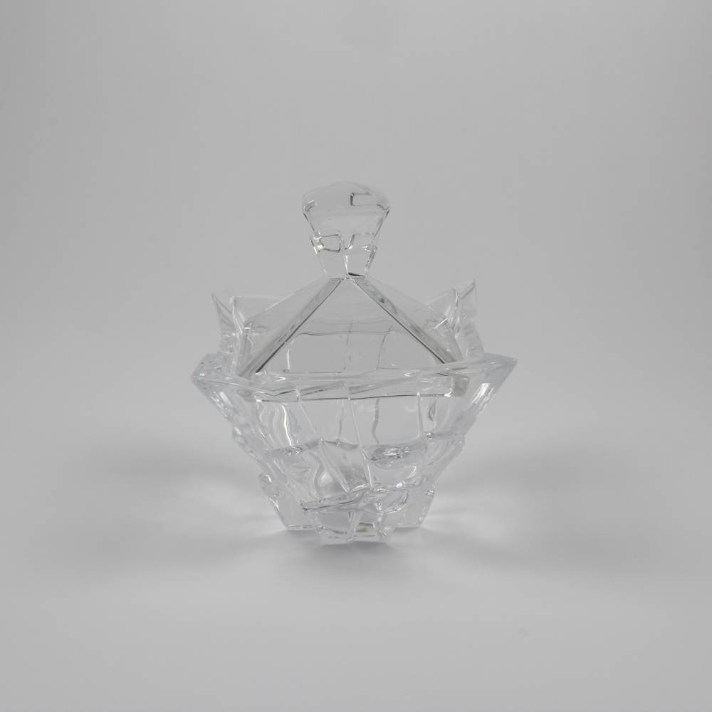 Bomboniere Bari em Cristal - Wolff - 19,5x16 cm