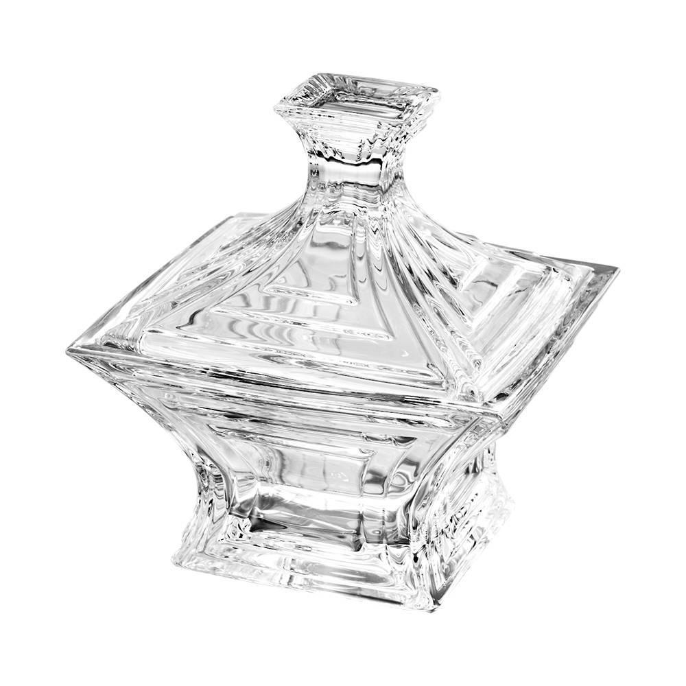 Bomboniere Cascade em Cristal - Bohemia - 21x18 cm