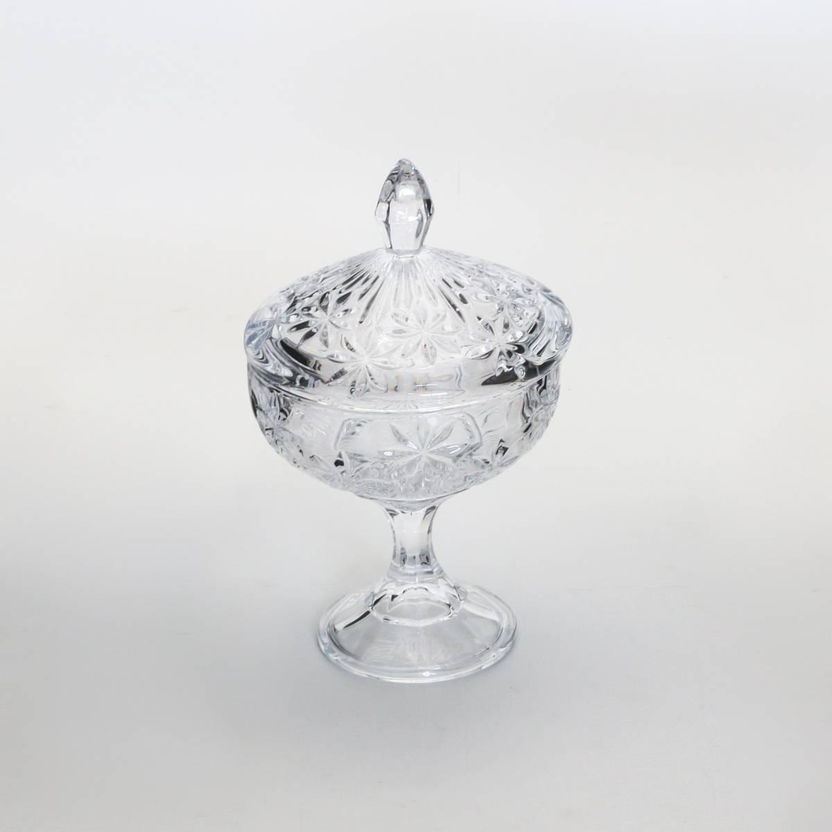 Bomboniere Perseus com Pé em Cristal - Bohemia Crystalite - 24x15 cm