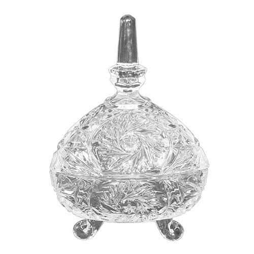 Bomboniere Linnea Transparente em Vidro - 18x12 cm