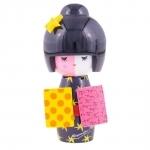 Boneca Decorativa Kute Mística - Romero Britto - em Cerâmica - 13x6 cm