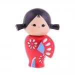 Boneca Decorativa Momiji Mania - Patty - em Resina - 8x6 cm