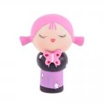 Boneca Decorativa Momiji Mania - Pink - em Resina - 7x6 cm