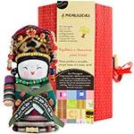 Boneca - Mensageira do Oriente - Yugur em Tecido