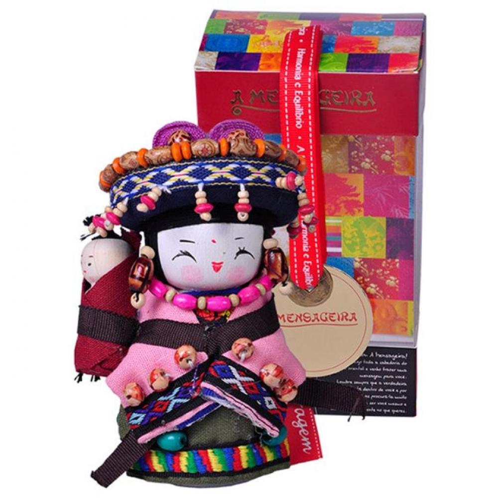 Boneca Mensageira P da Coragem -  Qiang