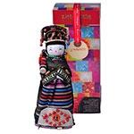 Boneco Decorativo Oriental Yugur em Tecido - 28x12 cm