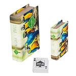 Book Box Conjunto 2 Peças Cartas Araras Amazônia Fullway - 20x14 cm