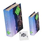 Book Box Conjunto 2 Peças Cartas Rio de Janeiro Fullway - 20x14 cm