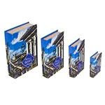 Book Box Conjunto 4 Peças Minas Gerais Fullway - 30x21 cm
