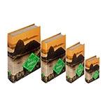 Book Box Conjunto 4 Peças Pão de Açúcar Fullway
