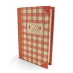 Bookbox CookBook Pink - 19x27cm