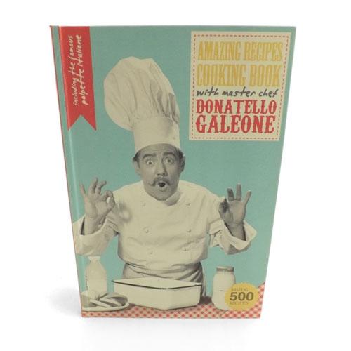 Book Box Donatelllo Galeone - Caixa Livro / Porta objetos - Madeira - 17x25 cm