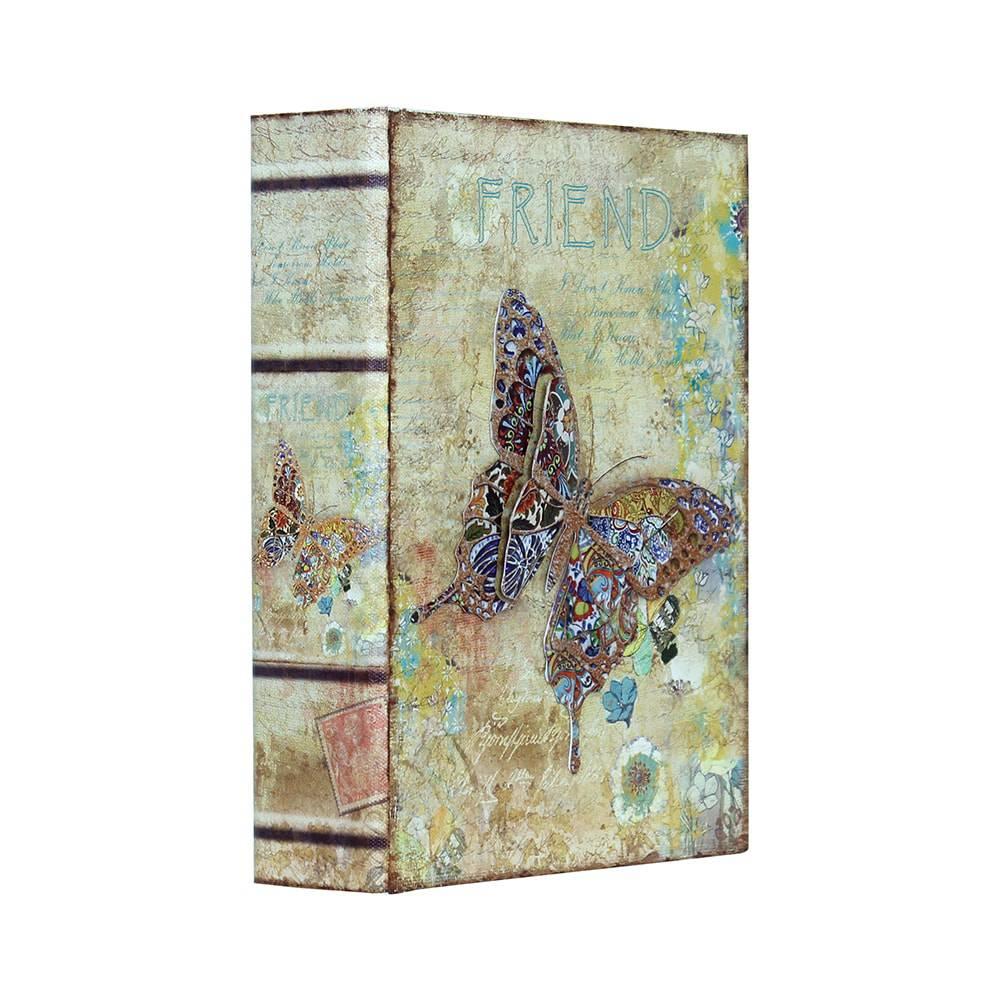 Book Box Friends com Borboleta Oldway - 24x18 cm
