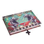 Book Box para Joias Abracadabra Elefante em Madeira - 27x19 cm