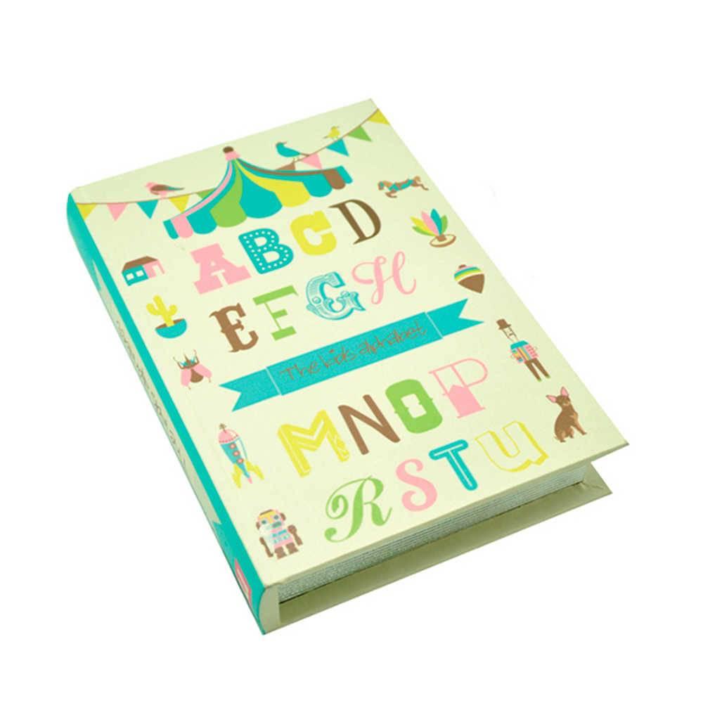 Book Box London Colorido em Madeira - Urban - 26x18 cm
