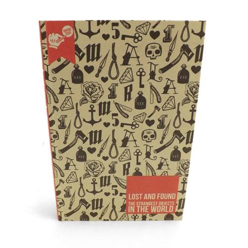 Book Box Lost and Found - Caixa Livro / Porta objetos - Madeira - 17x25 cm