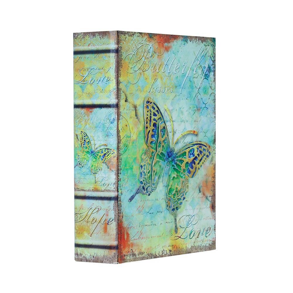 Book Box Love com Borboleta Oldway - 24x18 cm
