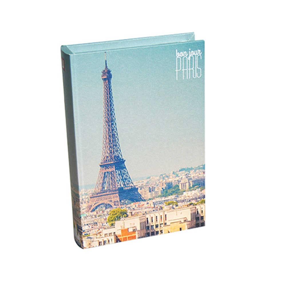 Book Box Paris Colorido em Madeira - Urban - 25x17 cm