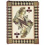 Book Box Pequeno de Cartas de Naipe de Paus Seda Oldway - 17x13 cm