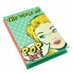 Book Box Pop Art Colorido em Madeira - Urban - 26x18 cm