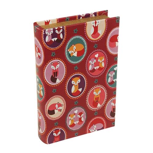 Book Box Raposinhas em Madeira - 24x15 cm