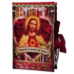Book Box Sagrado Coração de Jesus em Madeira