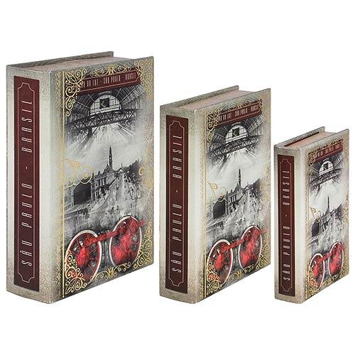 Book Box São Paulo Estação da Luz Oldway - 36x25x10cm