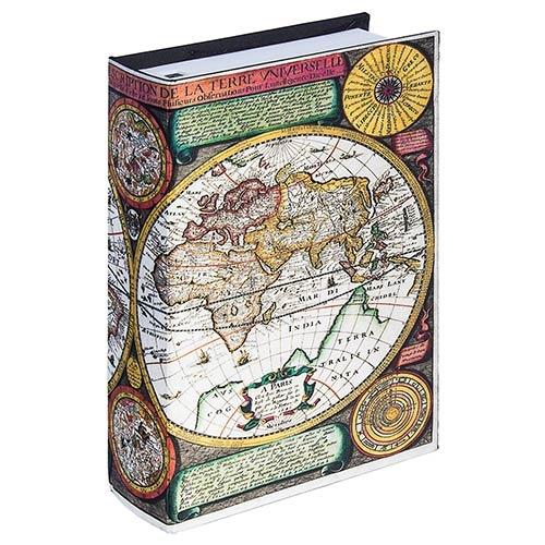 Book Phone Mapa Mundi Cores Oldway - 22x15x6cm