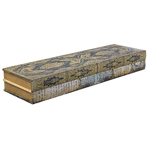 Book Shelf Prateleira c/ Duas Gavetas Oldway - 100x30 cm